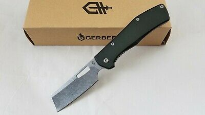 Gerber Flatiron Folding Knife 7Cr17MoV Stainless Steel Blade Aluminum NEW 494