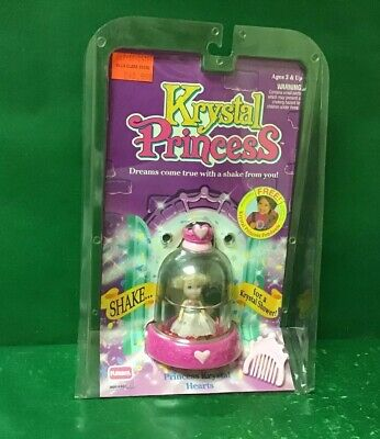 "1992 KRYSTAL PRINCESS :Princess Krystal ""HEARTS"" NIC By Playskool"