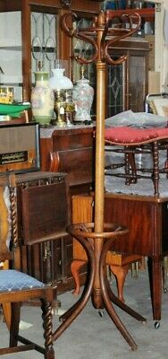 Antique Victorian Bentwood Hat and Coat Stand - FREE Delivery [5147]