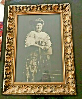 """Large Gesso Gilt Victorian Wood Frame Picture Frame & Photo 22""""x30"""""""