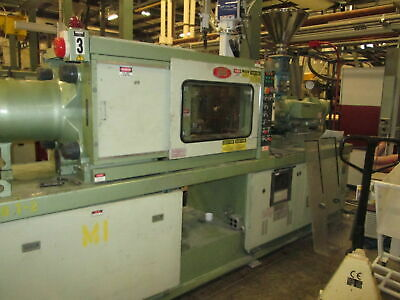 "Nissei FS80S12ASE 18""Platen Injection Molding Machine New 93 W/NC-8000F Cntrl"