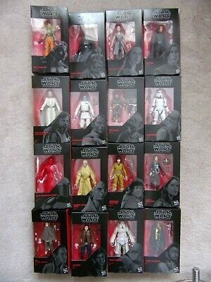 "Star Wars 6"" The Black Series Action figures Hasbro 42-65 Hera Rey Luke Lando ++"
