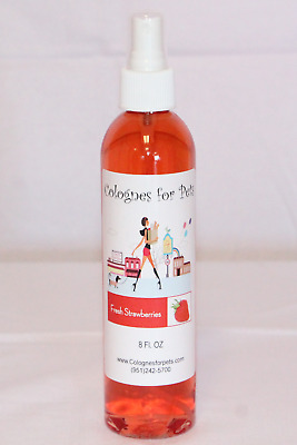 Colognes For Pets Grooming Fur Spray Dog Fragrance Pet Perfume Strawberry 8oz