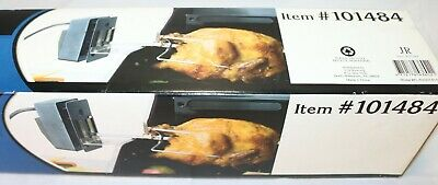 """BBQ grillware Rotisserie Kit with Electric Motor & 37"""" Steel Spit ~ $0 Fast Ship"""