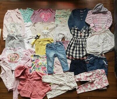 *F*A*B* Amazing Baby girl clothes bundle * 9-12 months * Next *M&S* MiniClub *