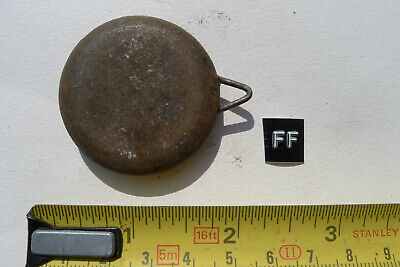 ff) MANTEL clock pendulum chiming/striking Original Vintage IRON American/Shelf?