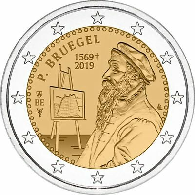 Belgien 2019 2 Euro the Flemish painter Pieter Bruegel the Elder  m