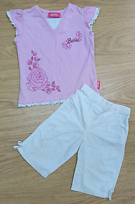 Next Baby Girls Barbie Outfit Bundle Age 12-18 Months Top Trouser