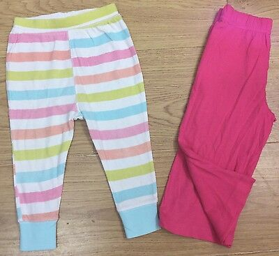 Next Marks & Spencer Baby Girls Pyjamas Trouser Age 12-18 Months Bundle