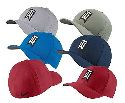 a89bcb7f6b111 Nike TW AeroBill Classic 99 Golf Hat Mens Fitted Hat - Choose Color   Size