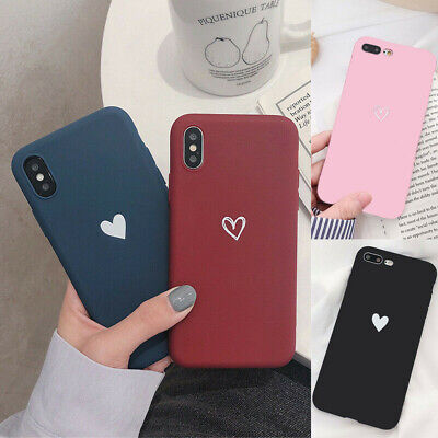 Case for iPhone X 8 7 6S Plus XR XS MAX ShockProof Soft Phone Cover TPU Silicone