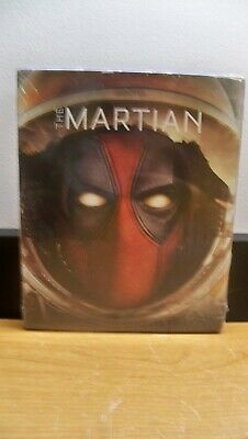New The Matian  Deadpool Photobomb Slip Cover Blu Ray 1Stcls S&H
