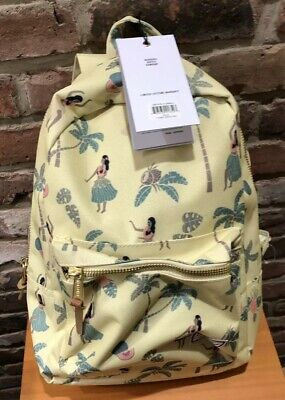 848122bca76 Herschel Supply Co. X Urban Outfitters Hula Girl Backpack Small Yellow NWT