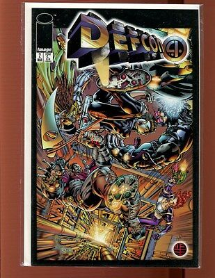 DEFCON 4 # 2 TWO ISSUE LOT(9.4-9.8)(NM TO NM/MT)IMAGE(b004)