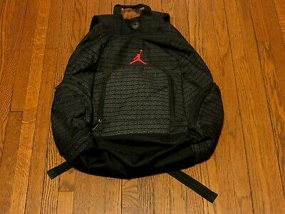 4c3b930065b Men's Nike Jordan Jumpman 23 Logo Graphite Black Red Backpack 9A1119-023