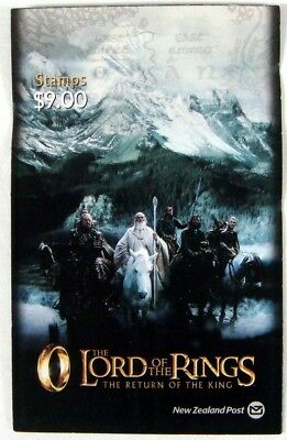 New Zealand 2003 Mnh Lord Of The Rings Return Of The King Stamp Booklet Iii