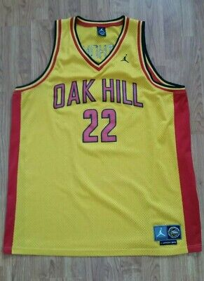 4720af3f605 Carmelo Anthony  22 Oak Hill Academy Jordan Mens Jersey Size 3XL Yellow 2002