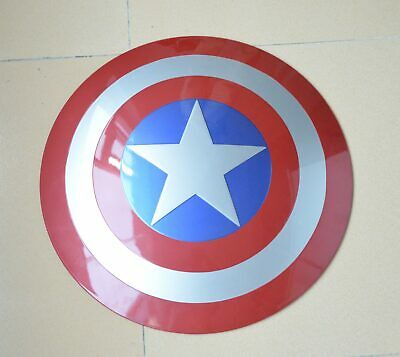 Handmade Strong ABS 1:1 The Avengers Captain America Shield PROP Toy Cosplay