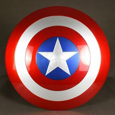 NEW 1:1 The Avengers Captain America Shield Strong ABS Replica Toy Prop Cosplay