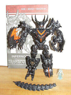 Transformers The Last Knight Toys R Us Exclusive Infernocus & Quintessa Complete