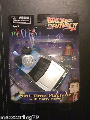 Minimates Vehículo Tru Back To The Future II Mary Mcfly Time Máquina Juguetes