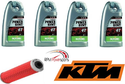 KTM 990 Super Duke 2007–2009 Oil Filter Change Kit