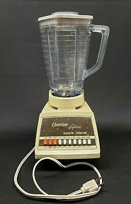 Vintage Retro Osterizer Galaxie Blender 869-16RW 10 Speed Excellent Condition
