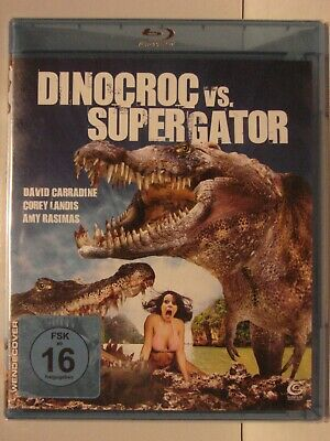 Dinocroc Vs. Supergator  Bluray Disc Neu Ovp  Ab 16