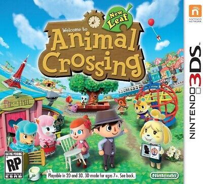 Nintendo 3DS Animal Crossing: New Leaf Video Game - Sealed
