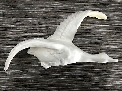 """Vintage White Flying Goose 12"""" Approx"""