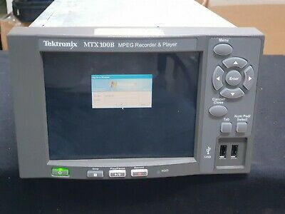 Tektronix MTX100B MPEG Player & Recorder with option 07