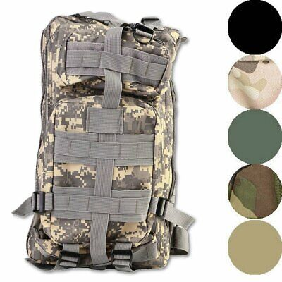 30L 3P Outdoor Military Rucksacks Tactical Backpack Camping Hiking Trekking Bag@
