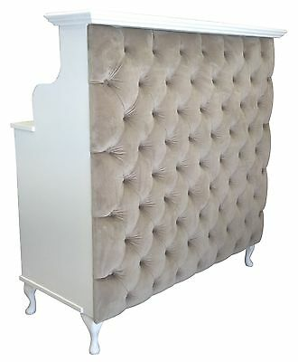 Reception Desk with padded front - other colours available