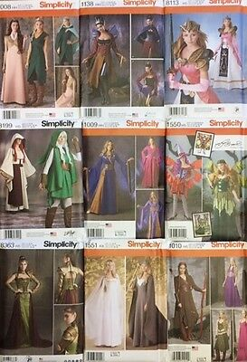 Simplicity Sewing Patterns Costume Fantasy