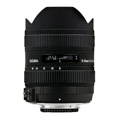 Sigma 8-16mm F/4.5-5.6 DC HSM Ultra-Wide Zoom Lens Canon EF Mount QQ