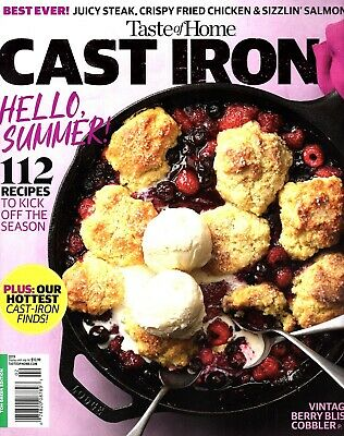"""Taste of Home """"CAST IRON"""" Magazine ~ Recipes ~ Cook Meals ~ Desserts ~ NEW 2019"""