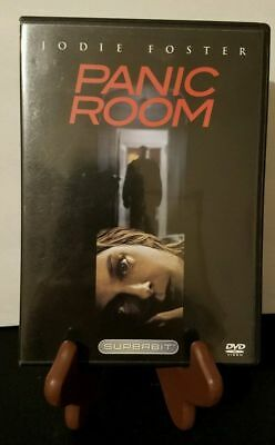 Panic Room (DVD, 2006, Superbit,)|AUTHENTIC|Pre-Owned|TESTED|USA SELLER