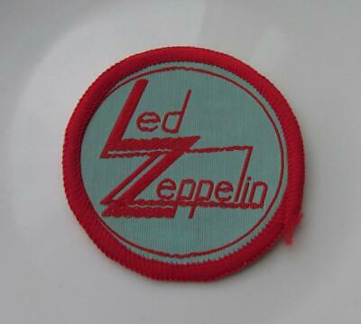 LED ZEPPELIN VINTAGE SEW ON PATCH FROM THE 1980's PAGE PLANT JONES BONHAM