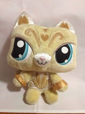 "10""  Littlest Pet Shop Plush Kitty Cat 2008 LPS - Stuffed Animal Kitten"