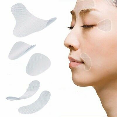 12/27/24 pcs/set Unisex Thin Face stickers EVA Resin Anti-Wrinkle Patches Act