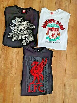 Liverpool FC Official Football Mens Graphic T-Shirts XS to XL 3 versions