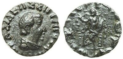 Indo-Greek Kings of Bactria. AR Drachm, Hermaios Soter (105-90 BC) / Bop-17x