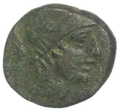GREEK BRONZE COIN PONTIC KINGDOM TIMES OF MITHRIDATES VI SWORD AMISOS AE20 6,61g