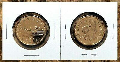 Canada 2003 New Effigy Brilliant Uncirculated BU UNC Loonie!!
