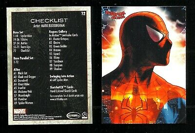 SPIDER-MAN ARCHIVES 2009 card USA singole: base, parallel, speciali