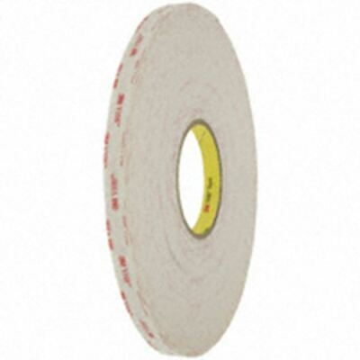 """Tape Dbl Coated Wht 1/2""""X 36Yds"""