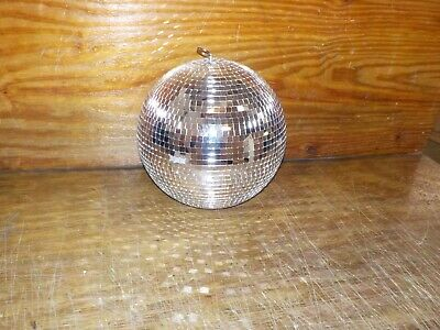"""NuLink 12"""" Disco Light Mirror Ball with Hanging Ring"""