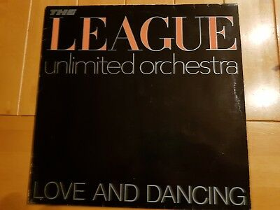 The League Unlimited Orchestra ‎– Love And Dancing 1982 UK LP SYNTH POP