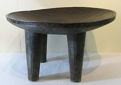 Antique African Peul Fulani Stool Guinea/Senegal Late 19th Century Great Patina!