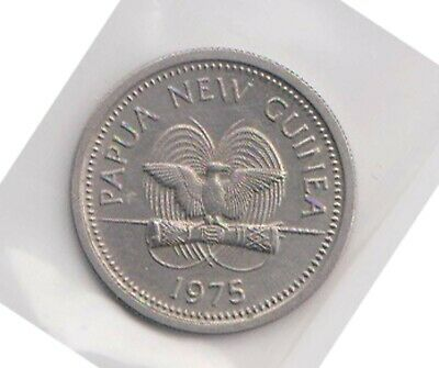 (H139-17) 1975 PNG 5T coin (Q)